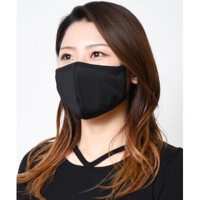 【シュシュ】 SHUSHUオリジナル接触冷感洗えるマスク3枚セット キッズ ブラック 子供用 SHUSHU
