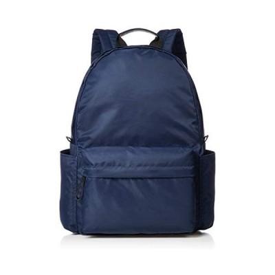 [モニカ] シンプルリュックサック MONI-0205 (ネイビー One Size)