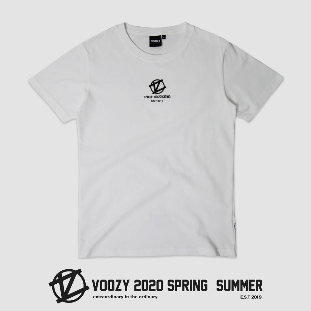 Voozy 2020ss 座標 logo (白)