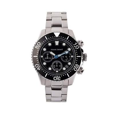 [マウロジェラルディ] 腕時計 MJ065-1 メンズ シルバー
