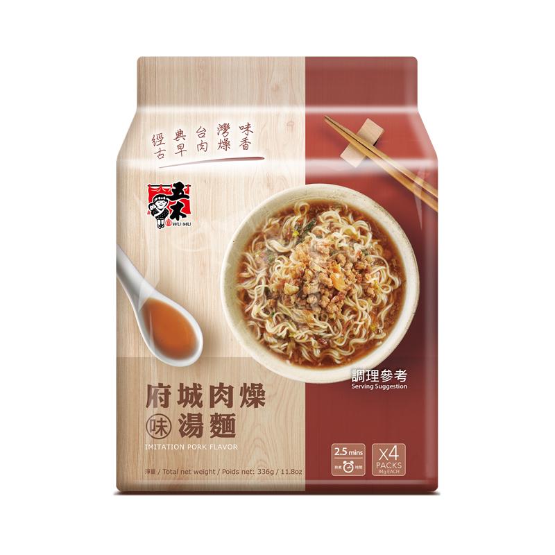 五木府城肉燥味湯麵 336g