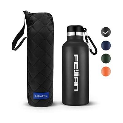 FEIJIAN-ステンレスボトル-アウトドア-ステンレス製-750mlブラック