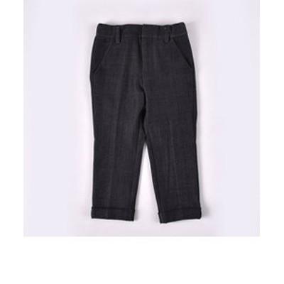 ワッペン付きデニム調パンツ(110cm~130cm)