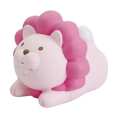 ハシモト 温度計・湿度計 ピンク W9.5×D10.5×H8.3cm
