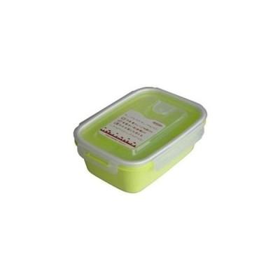 岩崎工業 4901126316258-60 保存容器 スマートフラップ&ロックス 900ml(L) 1P グリーン 60個セット【沖縄・離島配達不可】 (490112631625860)