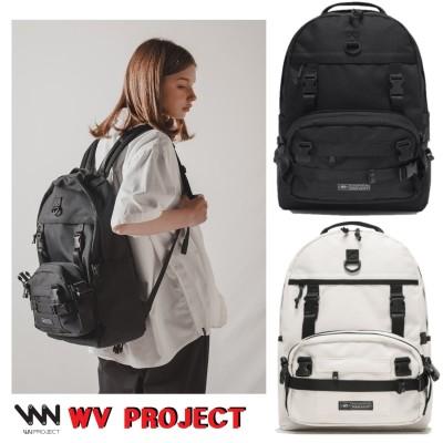 [WV PROJECT]2021SSアウェイクポシェットバックパック【2色】新学期の人気ファッション/韓国ファッション。カップルバックパック