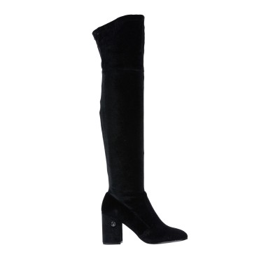 リュー ジョー LIU •JO ブーツ ブラック 35 紡績繊維 ブーツ