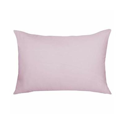 Arcpic 枕カバー 35x50cm ピンク ピローケース 綿100% 柔らかい 抗菌 防臭 洗える 封筒式 まくらカバー 1枚