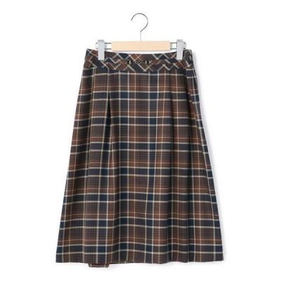 KEITH Lサイズ / キースエルサイズ ライトビエラチェック スカート