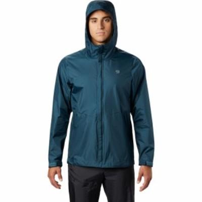 マウンテンハードウェア Mountain Hardwear メンズ レインコート アウター Acadia Rain Jacket Icelandic