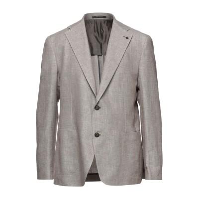 タリアトーレ TAGLIATORE テーラードジャケット カーキ 56 コットン 66% / リネン 34% テーラードジャケット