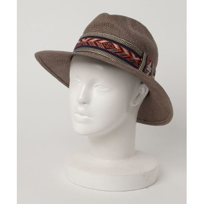 REPLAY / ウォッシュドペーパーストローハット WOMEN 帽子 > ハット