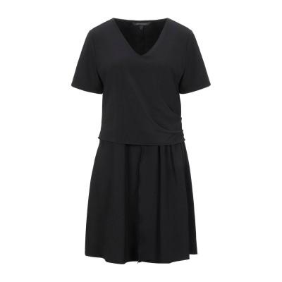 ARMANI EXCHANGE ミニワンピース&ドレス ブラック XS ポリエステル 95% / ポリウレタン 5% ミニワンピース&ドレス