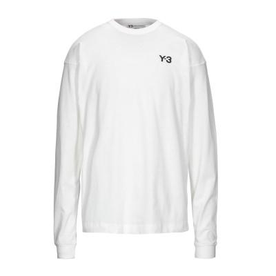 ワイスリー Y-3 T シャツ ホワイト S コットン 100% T シャツ