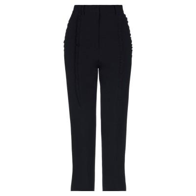 ヌメロ ヴェントゥーノ N°21 パンツ ブラック 42 アセテート 50% / レーヨン 50% パンツ