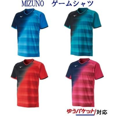ミズノ  ゲームシャツ 62JA9506 メンズ ユニセックス 2019AW バドミントン テニス ソフトテニス ゆうパケット(メール便)対応