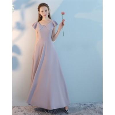 結婚式 ドレス パーティー ロングドレス 二次会ドレス ウェディングドレス お呼ばれドレス 卒業パーティー 成人式 同窓会hs187