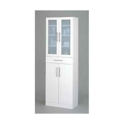 kuroshio カトレア食器棚60-180/23461 ホワイト/W600×D380×H1800mm
