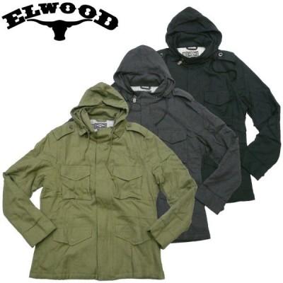 ELWOOD THE BIG MEAN M-65JKT エルウッド 中綿ジャケット ミリタリージャケットマークゴンザレス スケーター コート M-65ジャケット