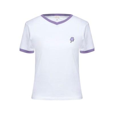 SCOUT T シャツ ホワイト M コットン 100% T シャツ