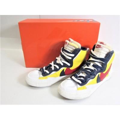 NIKE ナイキ BLAZER MID/SACAI BV0072-700 US11 29.0cm スニーカー 靴 □UT7276