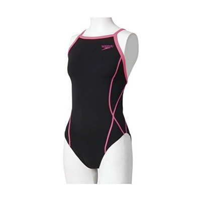 Speedo(スピード) レディース 競泳水着 練習用 ワンピース SD56T01 ネオンピンク L