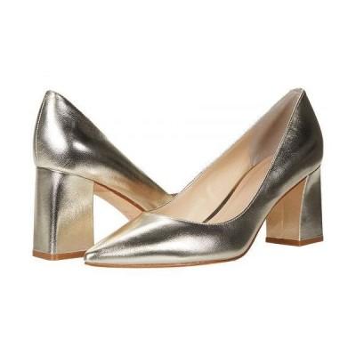 Marc Fisher LTD マークフィッシャーリミテッド レディース 女性用 シューズ 靴 ヒール Zala 15 - Gold Leather