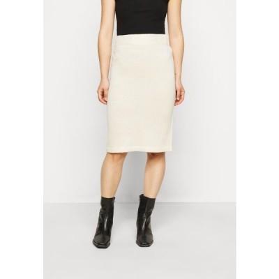 ヴェロモーダ レディース ファッション VMKOREA PENCIL SKIRT - Pencil skirt - birch
