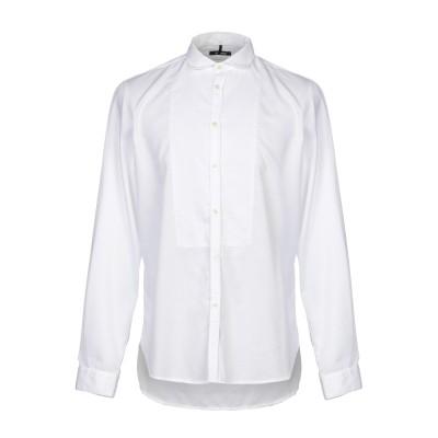 OFFICINA 36 シャツ ホワイト XL コットン 100% シャツ