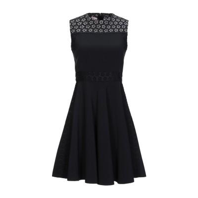 ジャンバ GIAMBA ミニワンピース&ドレス ブラック 40 紡績繊維 ミニワンピース&ドレス