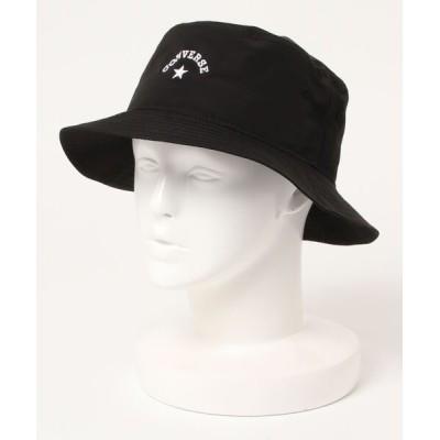 JEANS MATE / 【CONVERSEコンバース】タフタバケットハット ワンポイントブランドロゴ刺繍 WOMEN 帽子 > ハット