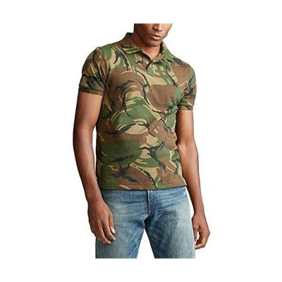 Polo Ralph Lauren Classic Fit Mesh Polo British Elmwood Camo LG