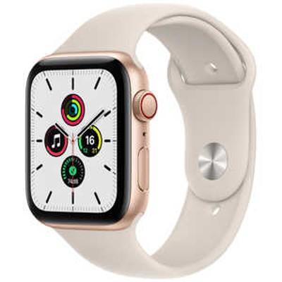 アップル Apple Watch SE(GPS + Cellular)44mmゴールドアルミニウム MKT13JA