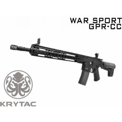 KRYTAC 海外製電動ガン本体WAR SPORT GPR-CC (4571443154903) M4 ライラクス エアガン 18歳以上 サバゲー 銃