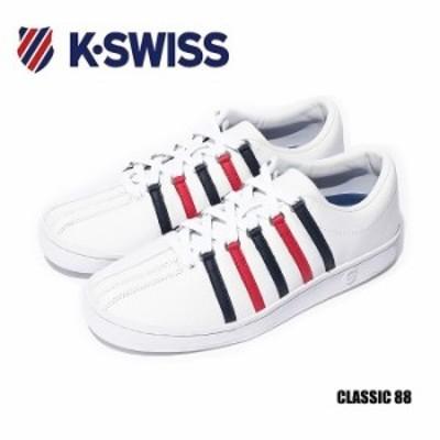 ケースイス スニーカー メンズ レディース クラシック 88 レザー K-SWISS Classic 88 ケイスイス
