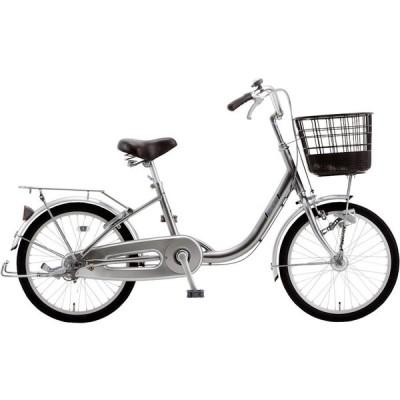 シティサイクル シオノ エレガント 20 オートライト (ガンメタ) 2021 SHIONO ELEGANT 20 塩野自転車