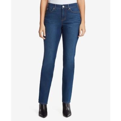 バンドリーノ デニムパンツ ボトムス レディース Women's Mandie Straight Short Length Jeans Athens