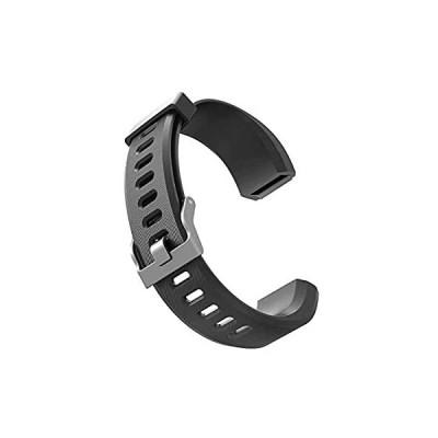 ID115Plus HR バンド 交換ベルト 柔らかい シリコン スマートウォッチ用 調整可能