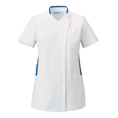 039 KAZEN レディススクラブ ナースウェア・白衣・介護ウェア