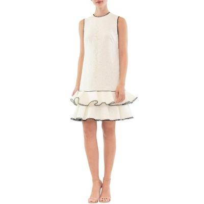 ナカーン レディース ワンピース トップス Sleeveless Tiered Ruffle Mini Dress