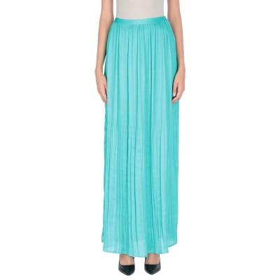 MARCIANO ロングスカート グリーン 42 100% ポリエステル ロングスカート