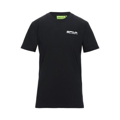 STUDIO ALCH T シャツ ブラック S コットン 100% T シャツ