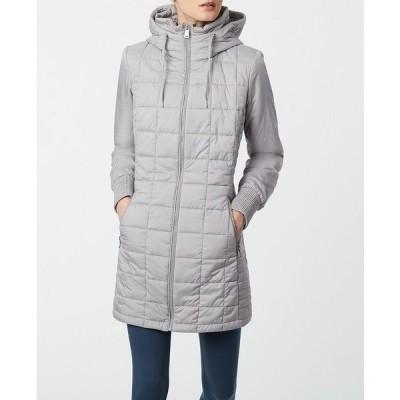ベルナルド コート アウター レディース Recycled Box Quilt EcoPlume Walker Coat Pearl Gray