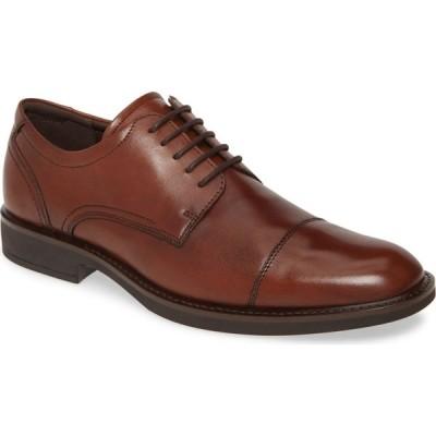 エコー ECCO メンズ 革靴・ビジネスシューズ ダービーシューズ シューズ・靴 Biarritz Cap Toe Derby Cognac