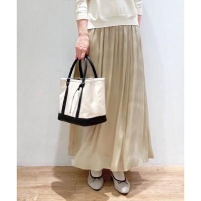 le.coeur blanc / ルクールブラン 楊柳シャイニーロングスカート