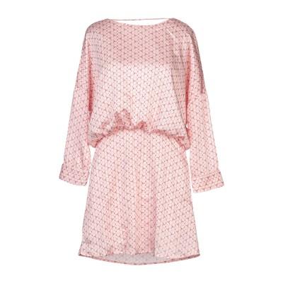 CUBIC ミニワンピース&ドレス ライトピンク L ポリエステル 100% ミニワンピース&ドレス