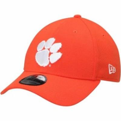 New Era ニュー エラ スポーツ用品  New Era Clemson Tigers Orange College Classic 39Thirty Flex Hat