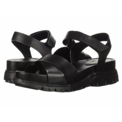 Cole Haan コールハーン レディース 女性用 シューズ 靴 サンダル Zerogrand Sandal II Black Leather/Black【送料無料】