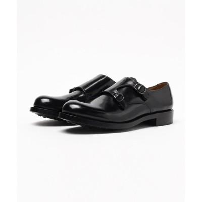 シューズ ドレスシューズ London Shoe Make / ロンドンシューメイク ≪グッドイヤーウェルト製法≫  ダイナイトソール ダブルモンクス