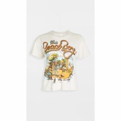 メイド ウォーン MADEWORN ROCK レディース ベアトップ・チューブトップ・クロップド トップス Beach Boys Crop Tee Off White